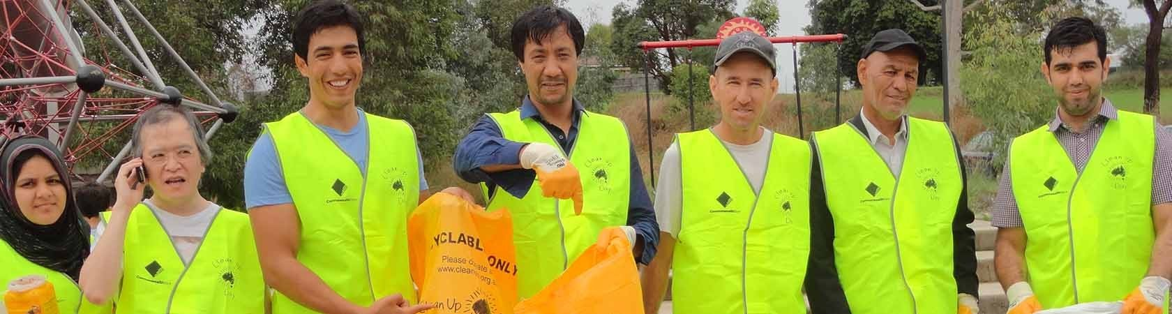 clea up australia how to clean up